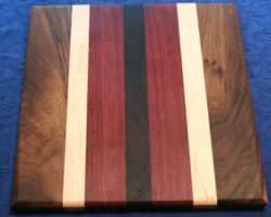 Colourful serving board