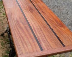 Hardwood table top